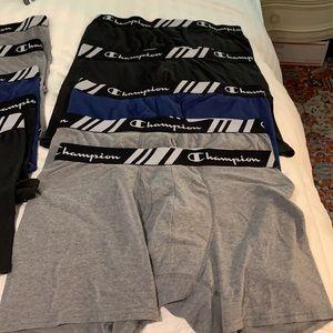 Set #1 Men's Champion Cotton Blend briefs - XL